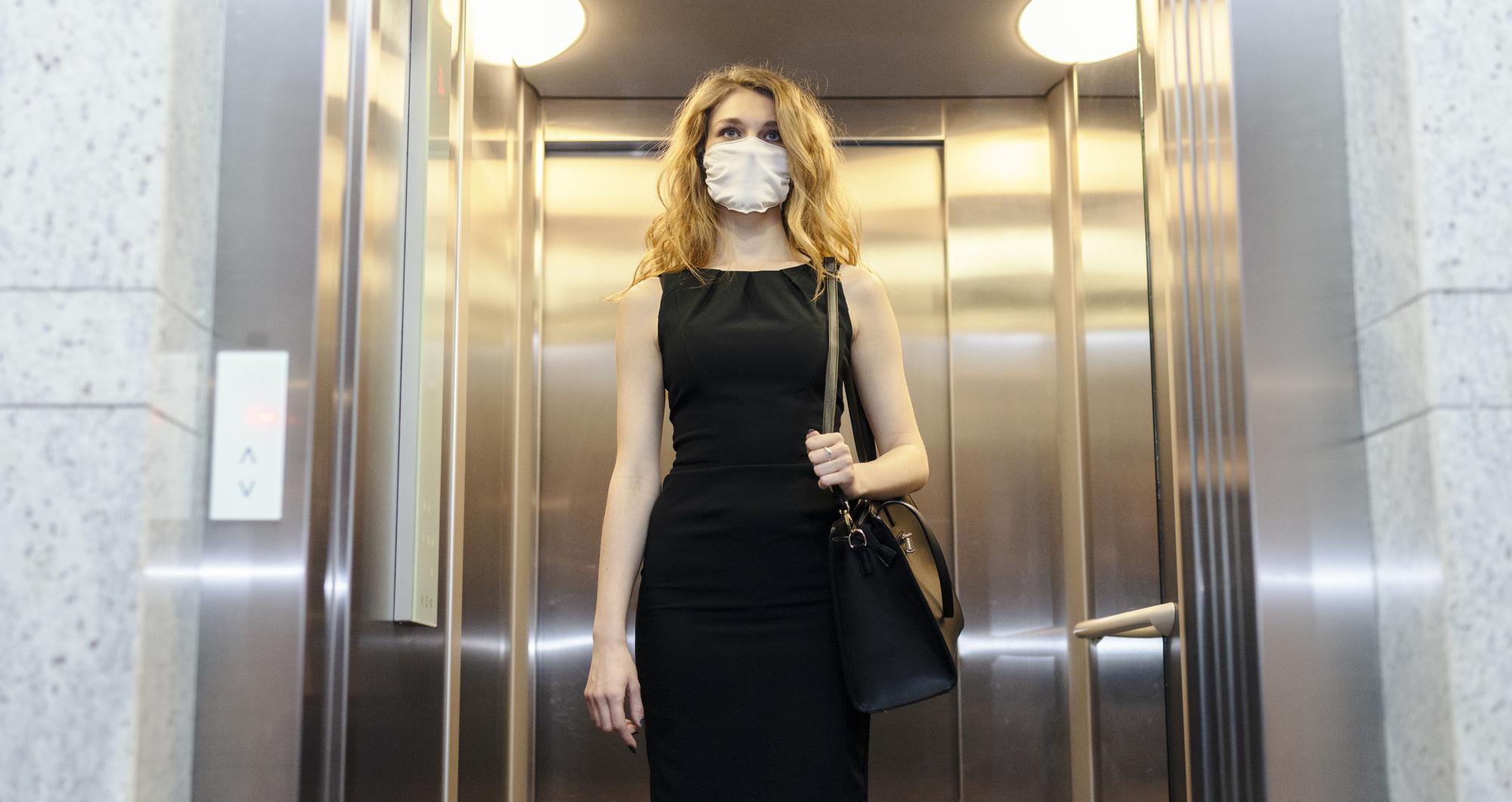 Schone lucht in liften